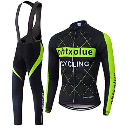 Hombres Ciclismo Jersey Sets térmico Polar Anti Arrugas Secado ...