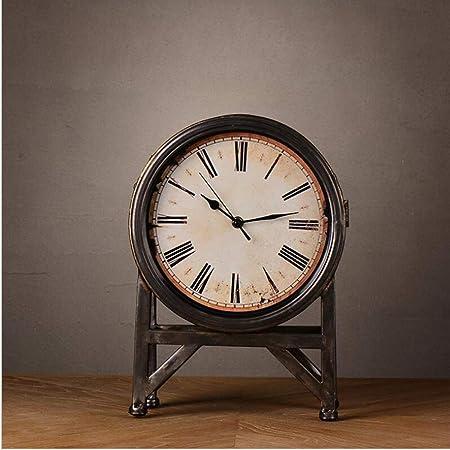 GongDi Reloj de Mesa Mantel Relojes Creativa Sala de Estar ...