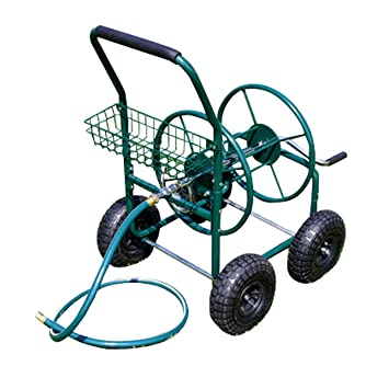 Garden hose cart with reel for 70 m hose Amazoncouk Garden