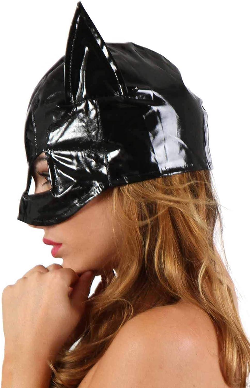 SPAZM Masque En Vinyle Catwoman