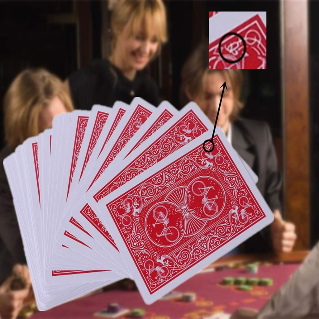 Itlovely New Secret Marked Stripper Deck Playing Cards Poker Cards Magic Toys Magic Trick by Itlovely (Image #2)
