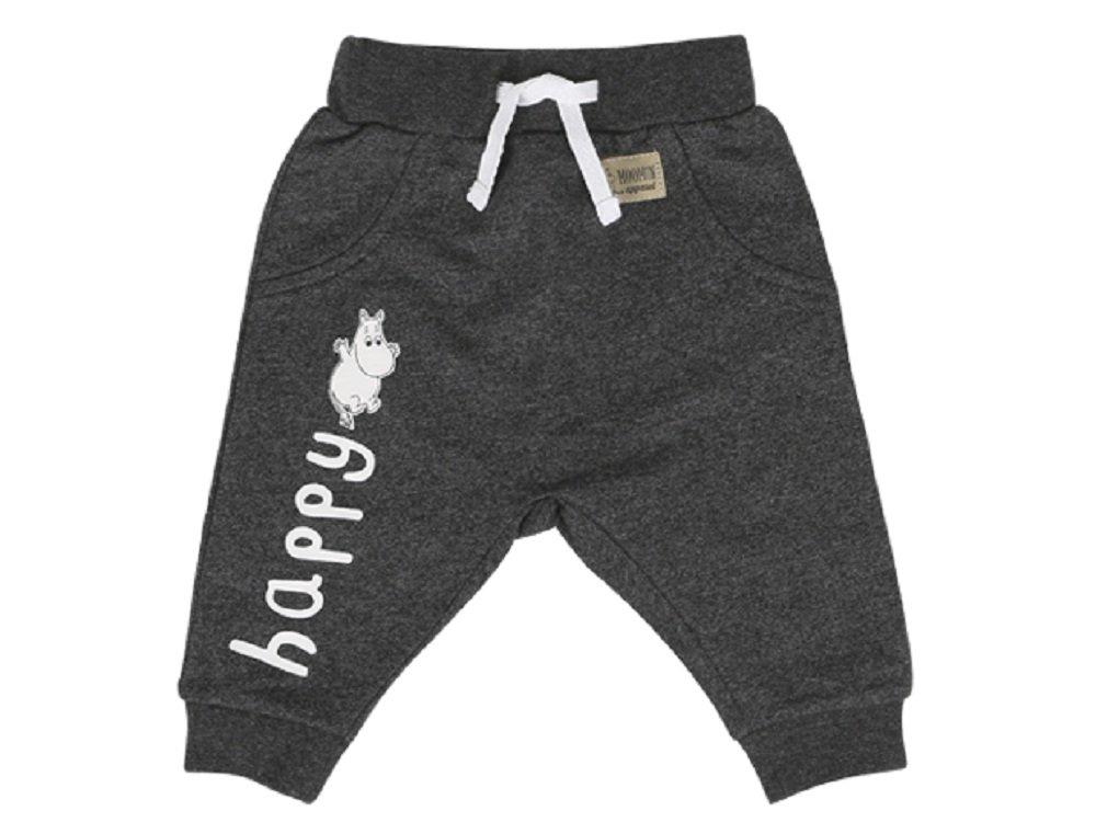 Moomin Happy - Newborn - Baby - Boys - Girls - Pants - Solid Trousers - Sweatpants (62 - 6-9 month) Martinex