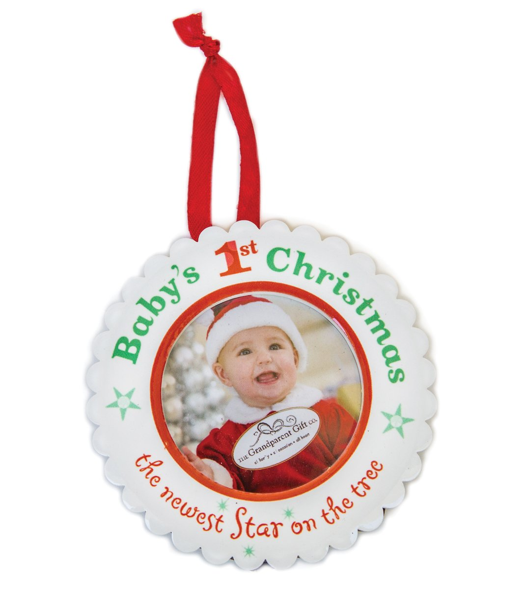 First Christmas As Grandparents Ornament