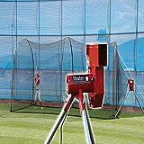 Heater Sports Baseball Pitching Machine & Xtender 24ft Batting Cage
