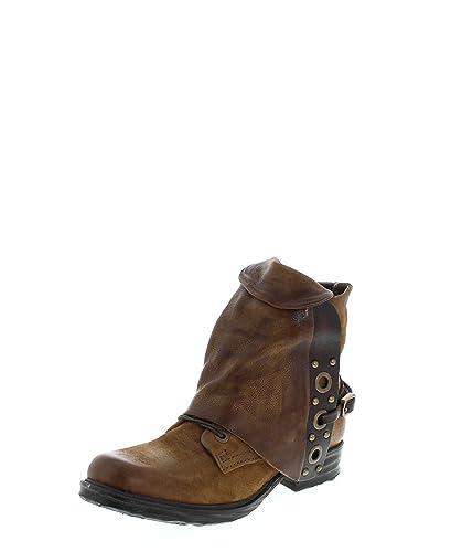 new concept d34f5 b8b1a A.S.98 259220 Daino Damen Stiefelette Braun Damenschuhe Damen Boots,  Groesse