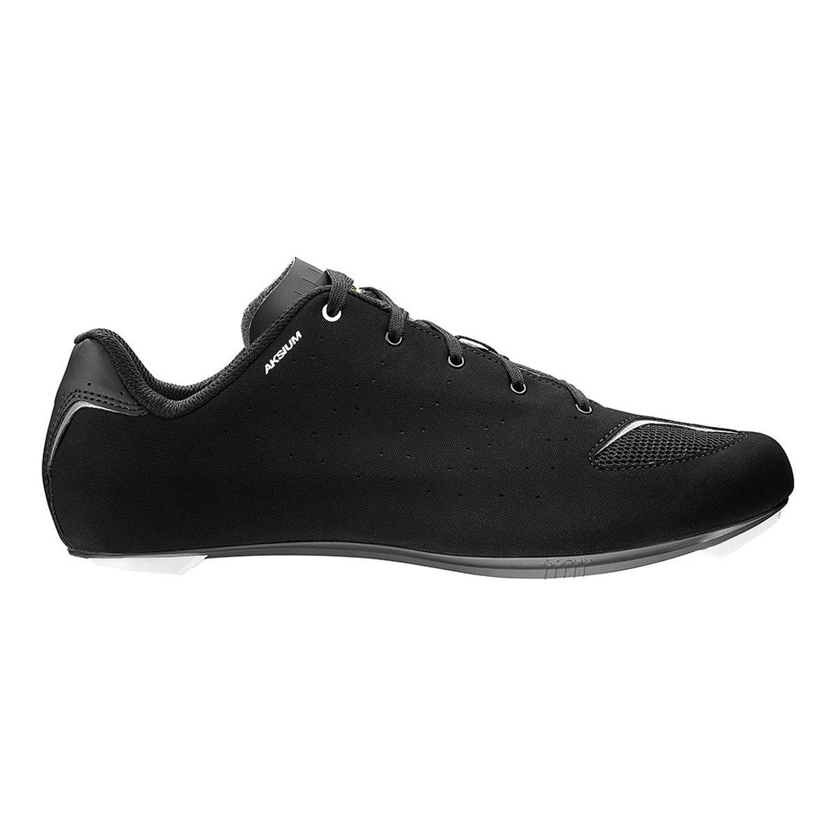 Mavic Aksium Road Cycling Shoe – Men 's B01LY02Q41 11 ブラック/ホワイト/ブラック