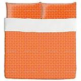 Bamboo Pop Duvet Bed Set 3 Piece Set Duvet Cover - 2 Pillow Shams - Luxury Microfiber, Soft, Breathable
