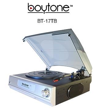 Amazon.com: Sistema de Turntable Hi-Fi boytone – bt-17tb ...