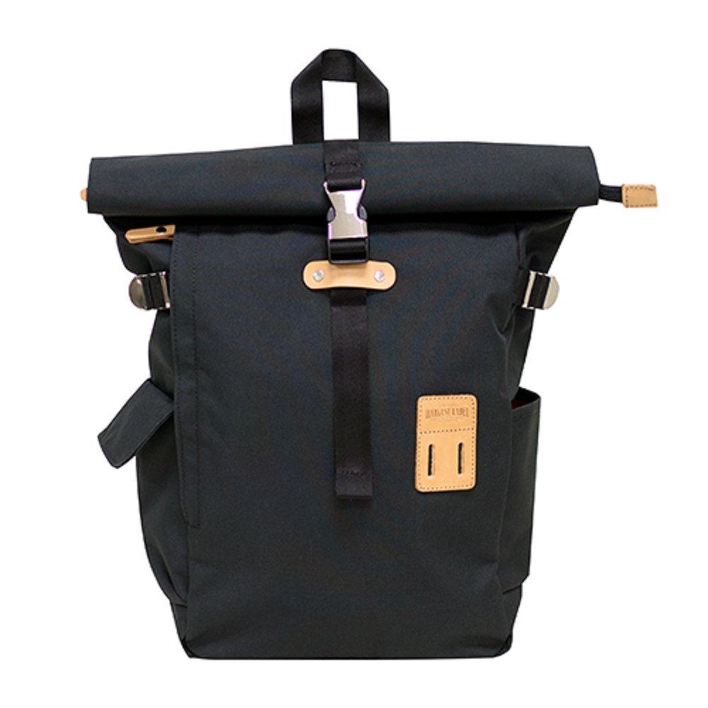 Harvest Label Connect Rolltop Backpack Plus (Black)