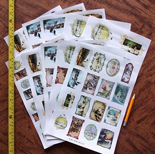Decoupage Paper Pack 10sheets A4 8 Quot X12 Quot Christmas