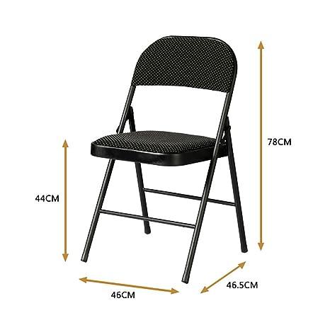 Amazon.com: Plegar sillas plegable para el hogar computadora ...