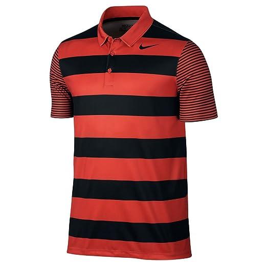d2ec0294f Amazon.com  NIKE Men s Dry Bold Stripe Golf Polo  Sports   Outdoors