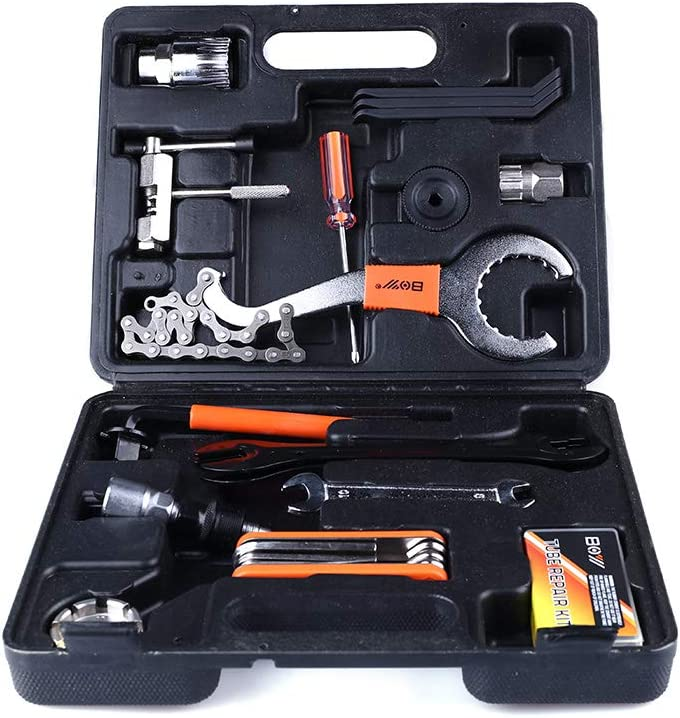 Details about  /44pc Multi-Function Bicycle BMX Bikes Repair Tool Kit Set Home Mechanic Tools