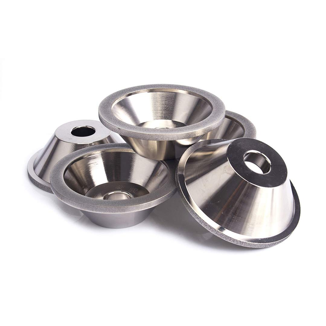 Diamond Grinding Wheel Cup Grinding Circles For Tungsten Steel Milling Cutter Tool Sharpener Grinder Accessories 150 by NSSTK