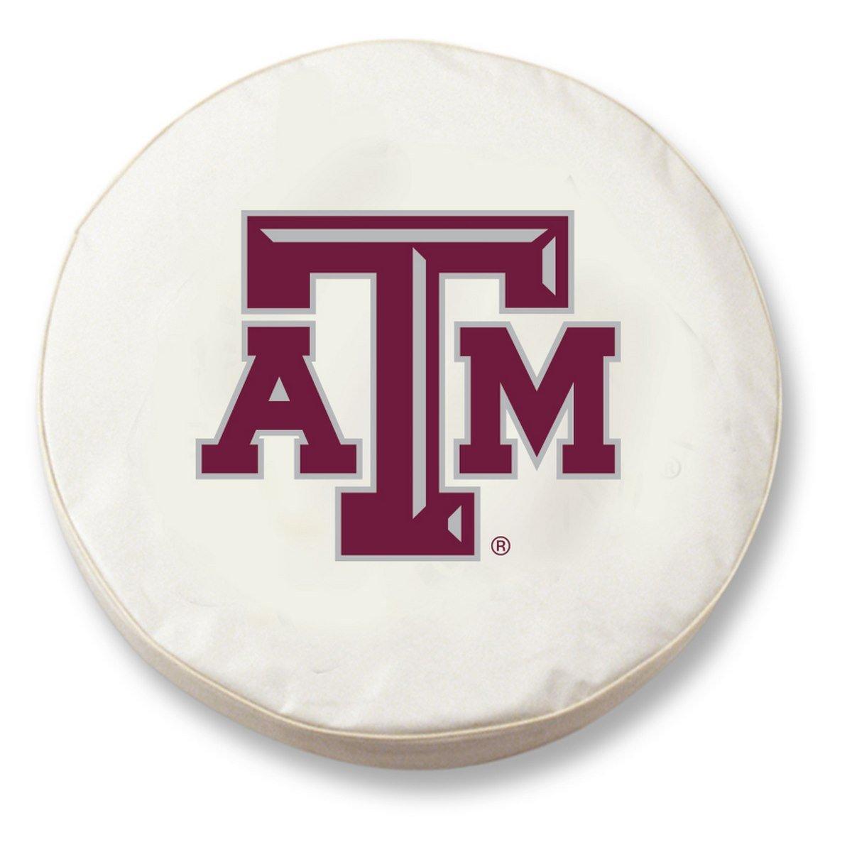 NCAA Texas A&M Aggies Tire Cover Holland Bar Stool Co TCBKTexAMBlock-parent