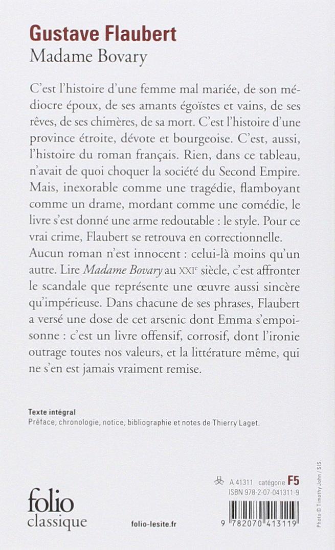 Hermosa Resume Madame Bovary Regalo - Colección De Plantillas De ...