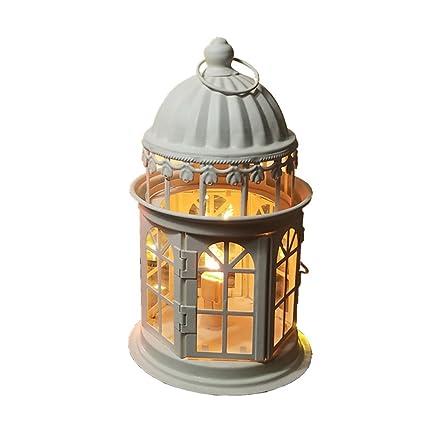 KMYX Marruecos lámpara de mesa de cristal de luz de la ...