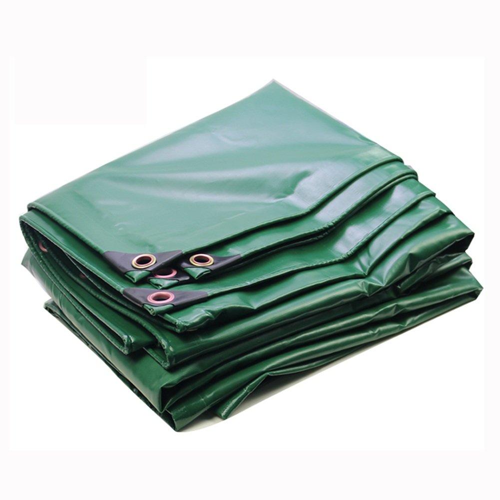 KKCF オーニング オーニング サンシェード オーニングシェード タープ  オーニング 日よけ PVC   厚い   防水 耐寒性  日焼け止め シェルター  車  トラックカバー, 450g/m²、厚さ0.4mm、3色 (色 : Green, サイズ さいず : 5x5m) B07FX2PZZ9 5x5m|Green Green 5x5m
