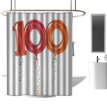 Amazon.com: Cortina de ducha de tela de poliéster clayii ...