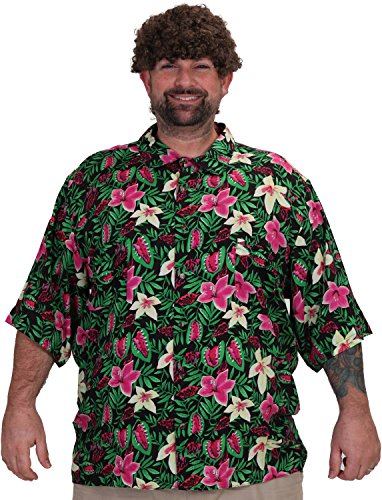 Goonies Chunk Tropical Flowers Shirt, adults - Large, XL