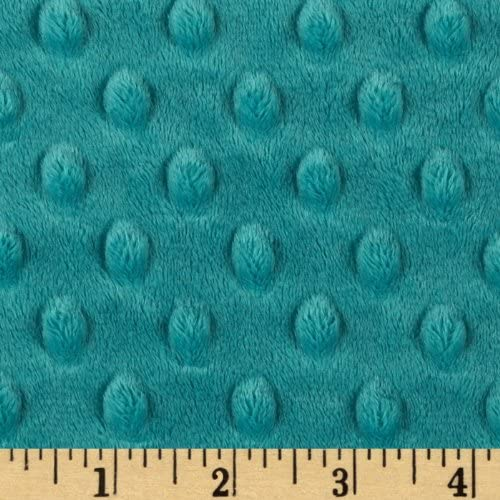 Minky Denim Blue Dimple Shannon Fabric By The Yard Cuddle Destash