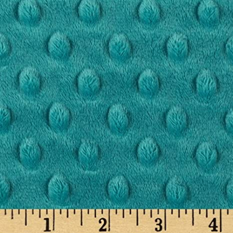 Baby Pink Dimple Dot 36 x 60 Bolt End Cuddle 3 Minky from Shannon Fabrics