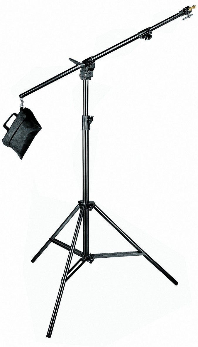 Manfrotto 420B 3- Section Combi- Boom Stand with Sand Bag - Replaces 3397,3397B (Black) by Manfrotto