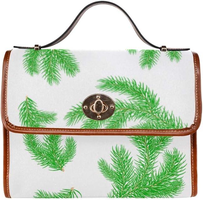 Shoulder Bags For Men Different Tree Branch Green Life Women Crossbody Satchel Bag Tote Shoulder Bag Handbags For Girl Lady Travel Work Shopping Huge Handbags