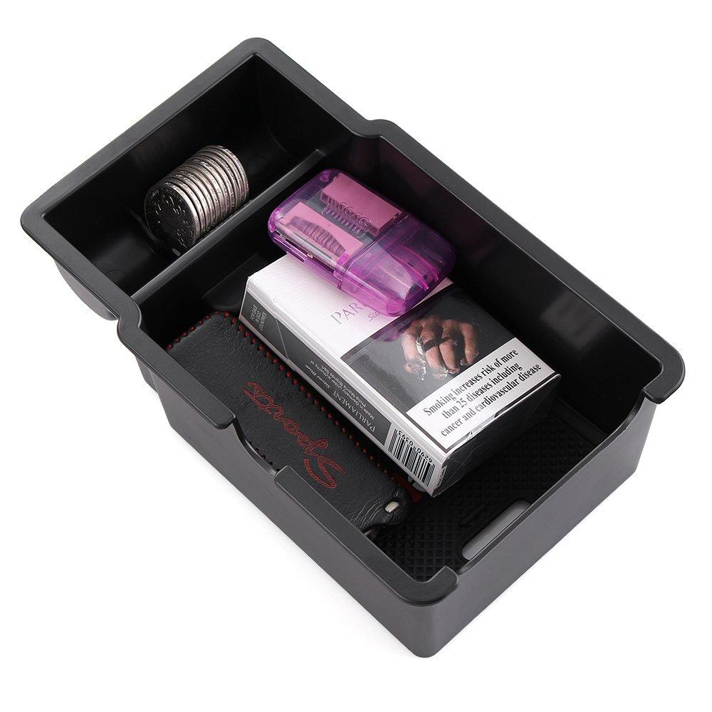 LITTOU Car Center Console Armlehne Box Glove Box Sekund/ärspeicher f/ür Renegade 2015 2016 2017