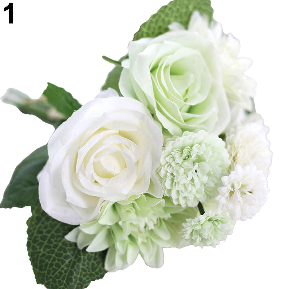 Amazon Com Marjon Flowersartificial Rose Dahlia Daisy Fake