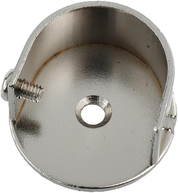 #25mm Gazechimp 2x Vorh/änge Gardinenstange Wand Halterung Klammern Recess Brackets