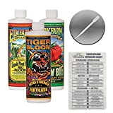 Fox Farm Liquid Nutrient Trio Soil Formula: Big Bloom, Grow Big, Tiger Bloom