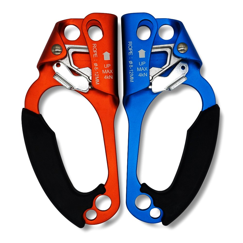 Paliston Climbing Hand Ascender for Rock Climbing Arborist (Right and Left) for 8~12 mm Rope by Paliston