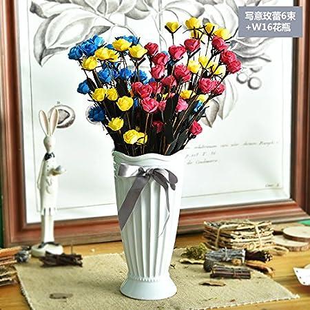 Wand Dekoration Vasen Kunstliche Blumen Erwarmung