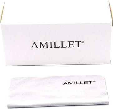 AMILLET Gafas de lectura paquete de 3 para hombres y mujeres, tocadiscos retro, 3 colores con caja de regalo, gafas de lectura