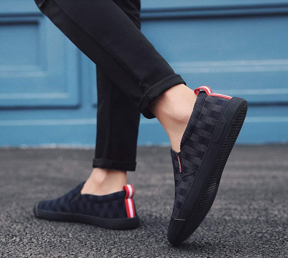 YAN Herrenschuhe Cowboy Herbst Loafers & Winter Loafers Herbst & Slip-Ons Fahren Schuhe für Casual Party & Abend Outdoor 2018 Blau, Größe   41 fb3ca5