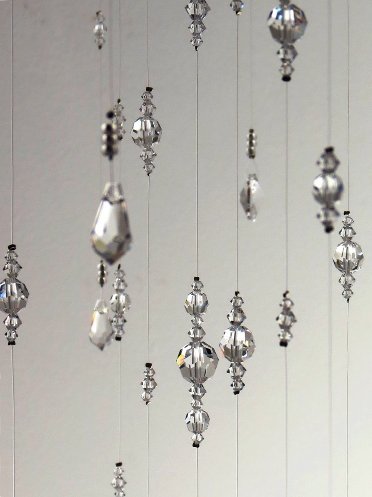 Extra Large Swarovski Crystal Chandelier Mobile Decoration Suncatcher in White