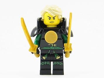LEGO Ninjago Skybound Lloyd Green Ninja with Armor + Hair Minifigure Sky Pirate