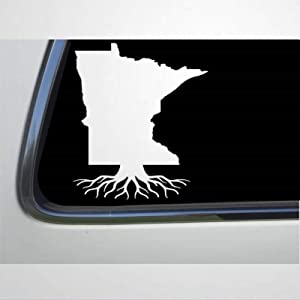 Minnesota MN Roots auto Sticker,Vinyl Car Decal,Decor for Window,Bumper,Laptop,Walls,Computer,Tumbler,Mug,Cup,Phone,Truck,Car Accessories