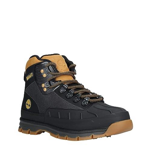 de164346880 Timberland Euro Hiker Shell, BOTIN per Uomo 41 Nero: Amazon.it ...