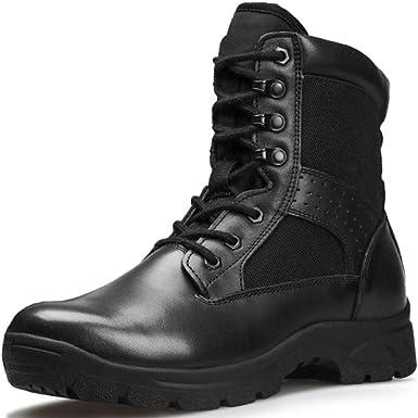 Hommes Tactiques Désert Botte Haut Armée Militaire Police