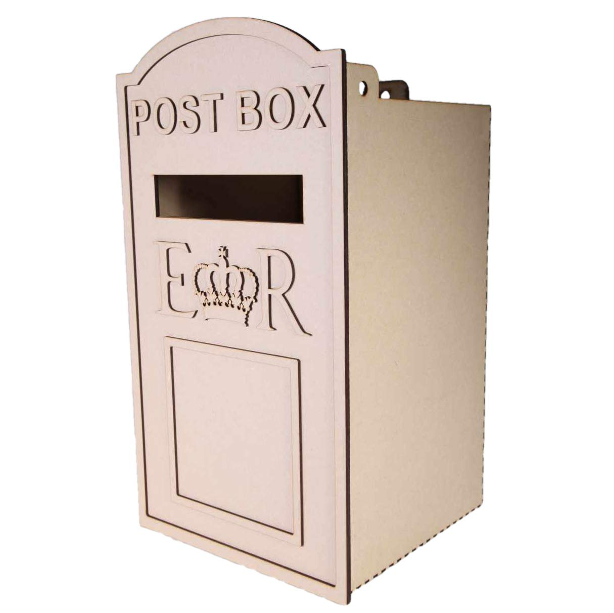 Large Wedding Card Post Box LaserSmith
