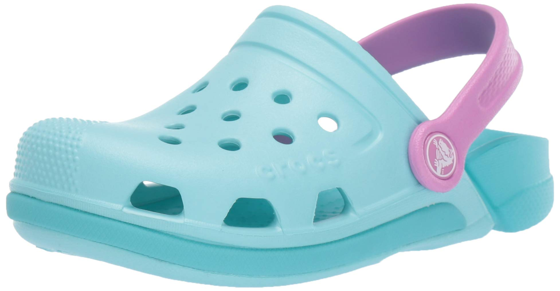 Crocs Kids' Electro Clog, Ice Blue/Pool, 3 M US Little Kid