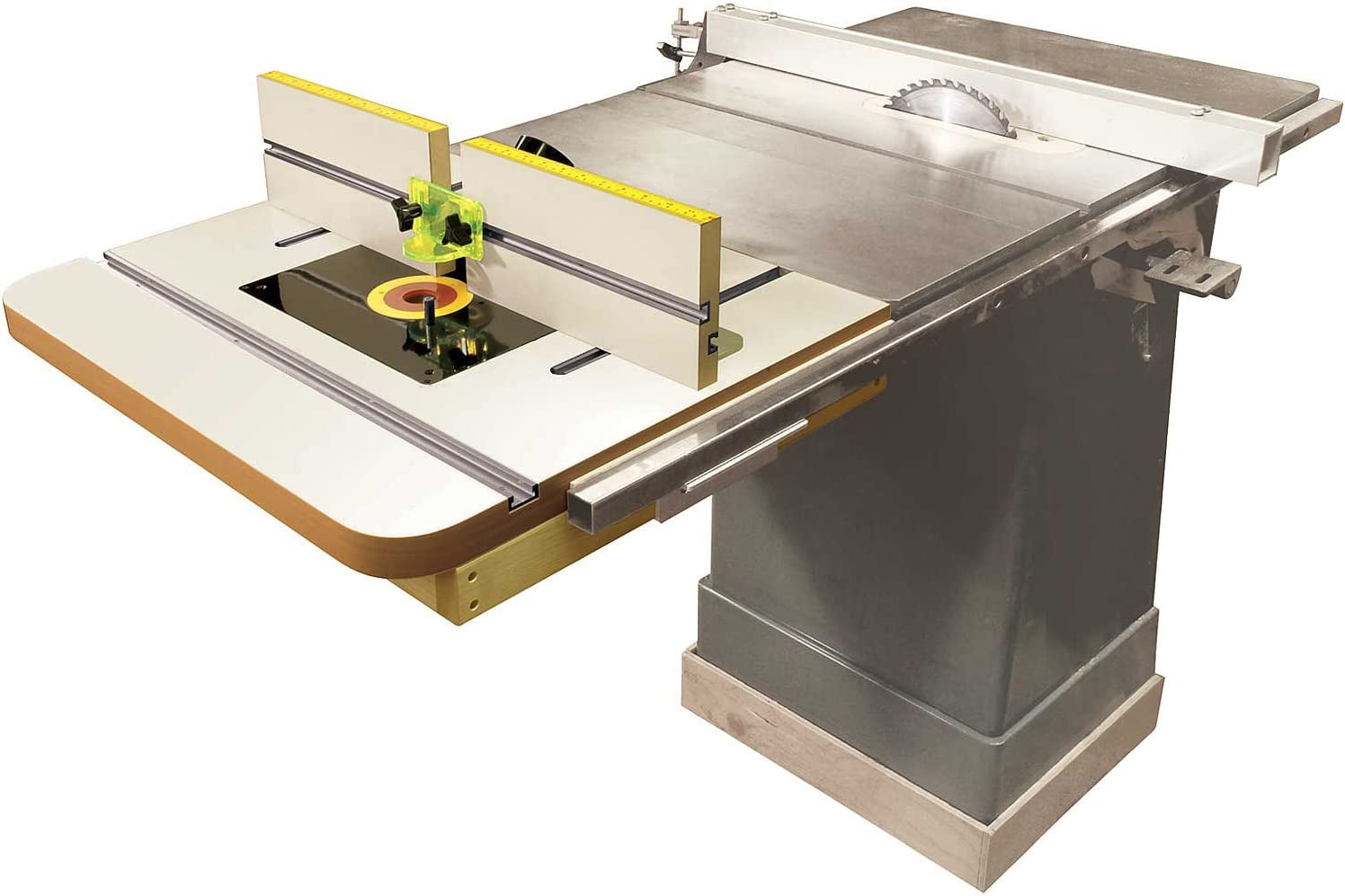 MLCS 2394 Extension Router Table Top /& Fence with Universal Router Plate