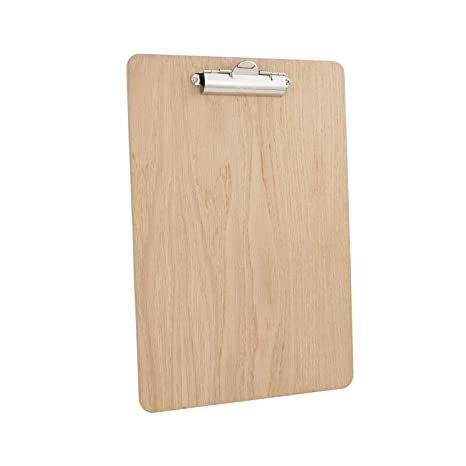 Chalkboards Uk Clipboard Wood Natural 24 X 34 X 2 Cm