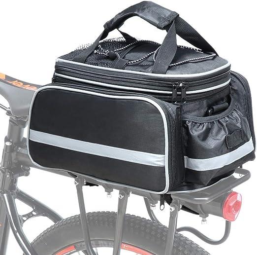 LKXZYX Bolsa de sillín de Bici Bicicleta,Bicicleta Bolsa Alforja ...