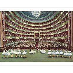 Photographic Print of Scala Theatre - Milan, Italy -Performance of a Ballet