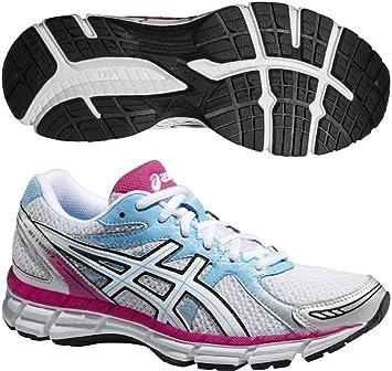 ASICS Gel-Oberon 9 - Zapatillas de Running para Mujer (T591N), White/Pearl White/Hot Pink, UK 9.5 / EU 44 / US 11.5 / CM 28.0: Amazon.es: Deportes y aire libre