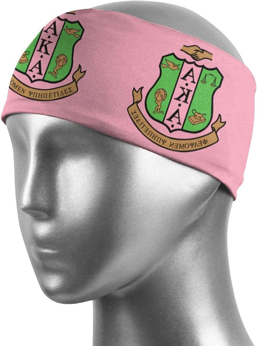 Pafkasdaj Alpha Kappa Alpha Sweatbands Sports Headband Wristband for Men Women