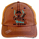 And The Others Hat, There're Two Types Of Dogs Trucker Cap (Trucker Cap - Orange)